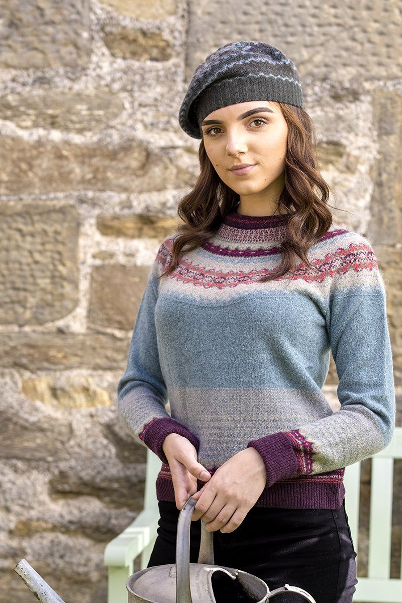 Alpine Fairisle Sweater (Old Rose)