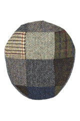 Harris Tweed Patchwork Cap