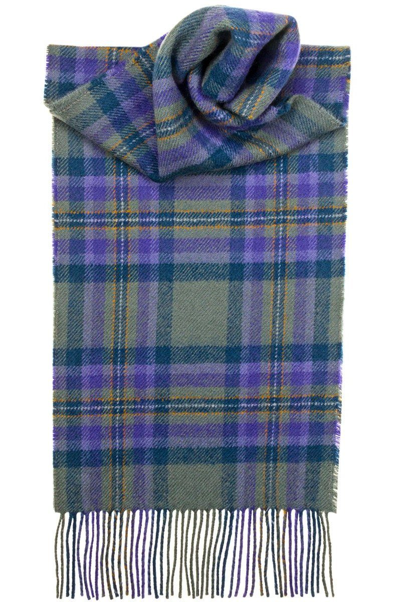 Luxury Lambswool Scarf (Heather Isle)