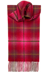 Luxury Lambswool Scarf (Lauriston Check)