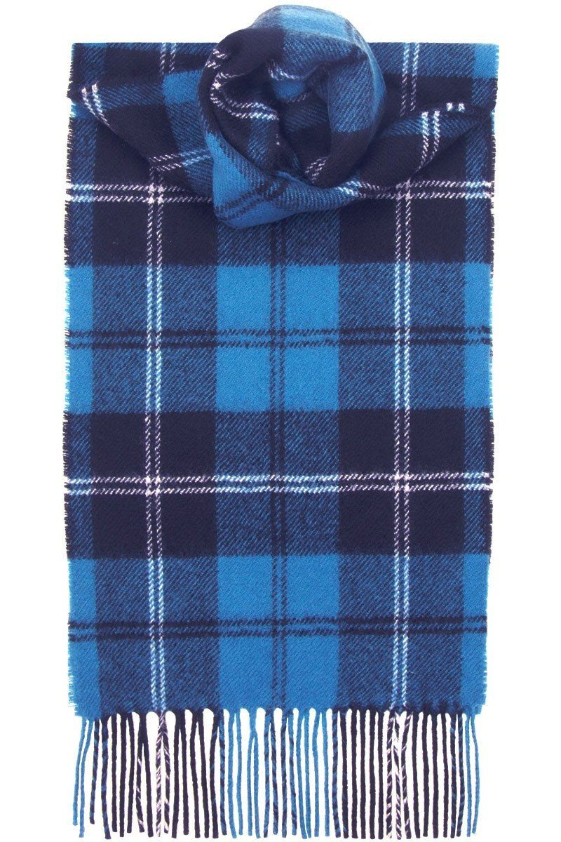 Luxury Lambswool Scarf (Ramsay Blue Ancient)