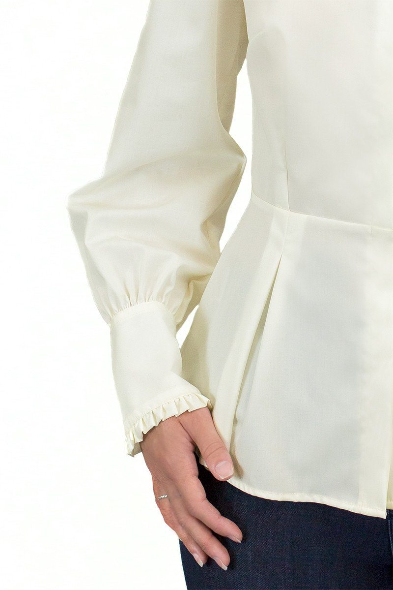 The Great Scot Victorian Blouse (Soft Cream)