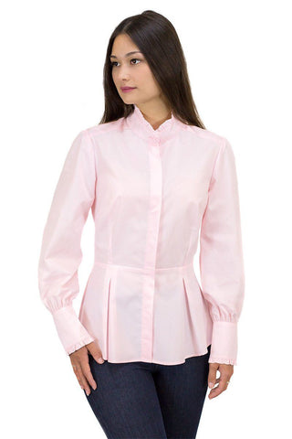 The Great Scot Victorian Blouse (Primrose Pink)