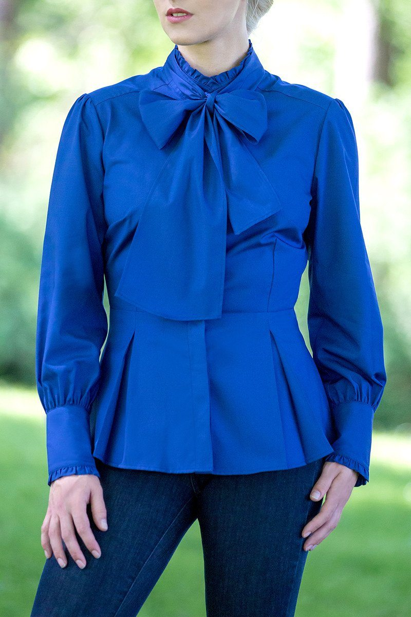The Great Scot Victorian Blouse (Bluebell)