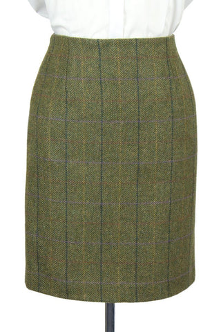 "Tailored Tweed 21"" Skirt (Galloway Tweed)"