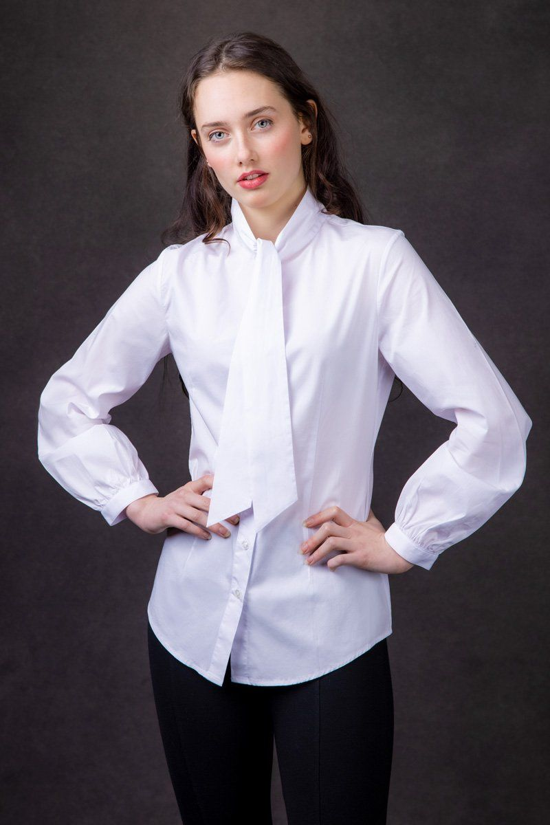 Countess Blouse (Bright White)