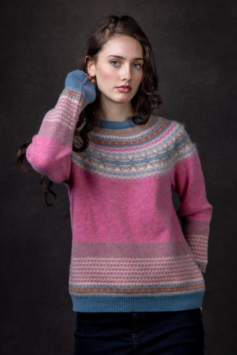 Alpine Fairisle Sweater (Nougat)