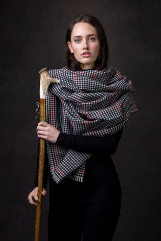 Luxury Oversized Scarf (Estate Check)