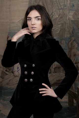 Lady Mary Jacket (Luxury Velvet - Custom )