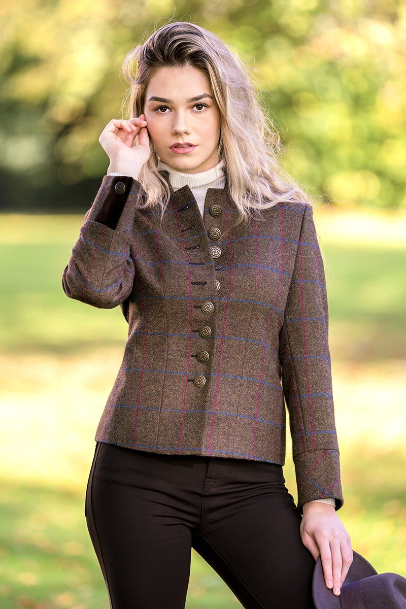 Claire Jacket (Morvern Tweed)