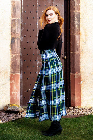 Lady's Custom Tartan Hostess Kilt