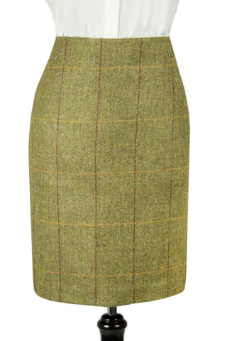 "Tailored Tweed Skirt 21"" (Kenmore Tweed)"