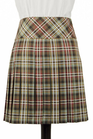 Lady's Kilted Skirt (Scott Weathered Non-Wool Tartan)