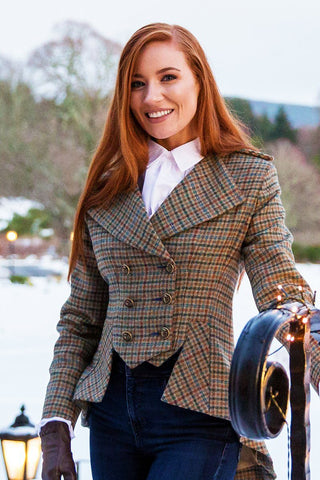 Lady Mary Jacket (Aberfeldy Tweed)