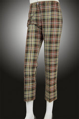 Cigarette Trouser (Scott Weathered Non-Wool Tartan)