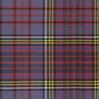 Great Scot Tartan Plaid Anderson Modern blue red yellow white check