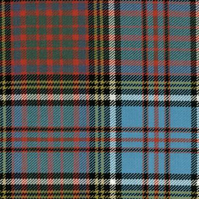 Great Scot Tartan Plaid Anderson Ancient blue red white green check