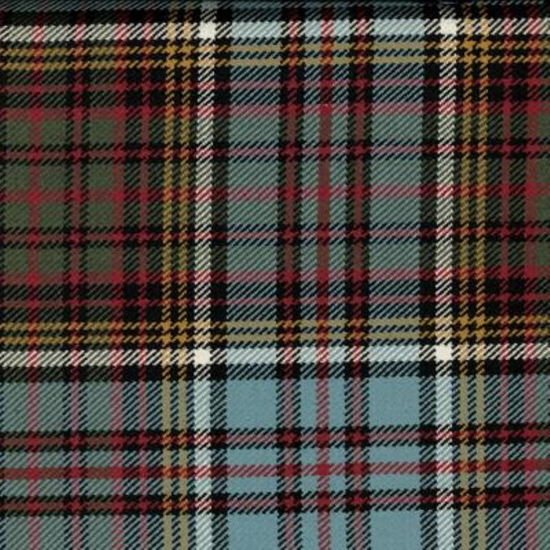 Great Scot Tartan plaid Anderson Muted grey yellow red