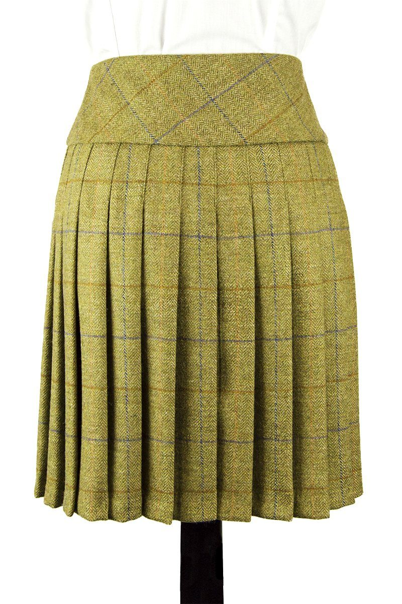 Lady's Kilted Skirt (Glenelg Tweed)