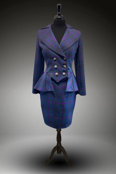 SAMPLE UK 10 Lady Mary Suit (Spirit of Scotland)