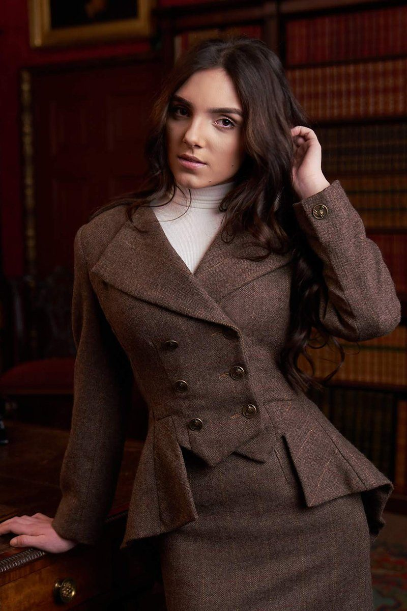 Lady Mary Jacket (Glenshiel Tweed)