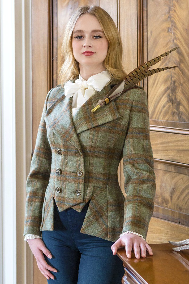 Lady Mary Jacket (Roseisle Tweed)
