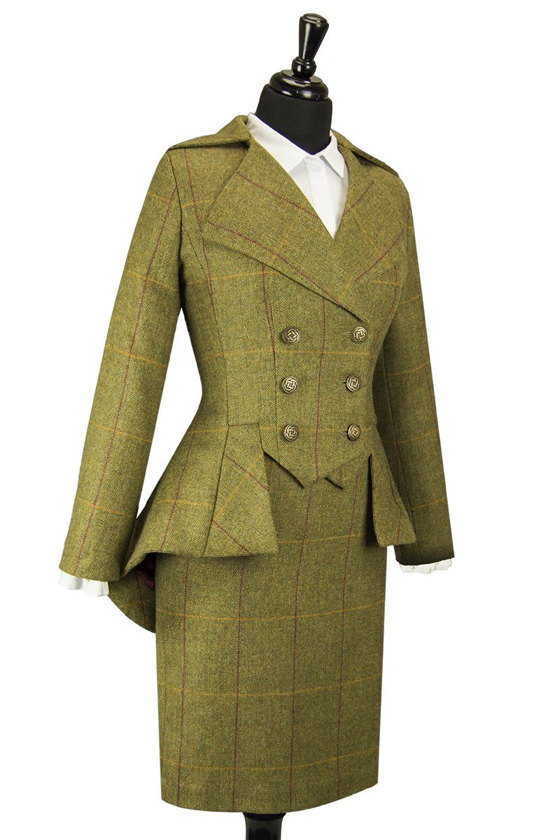 Lady Mary Jacket (Custom Tweed)