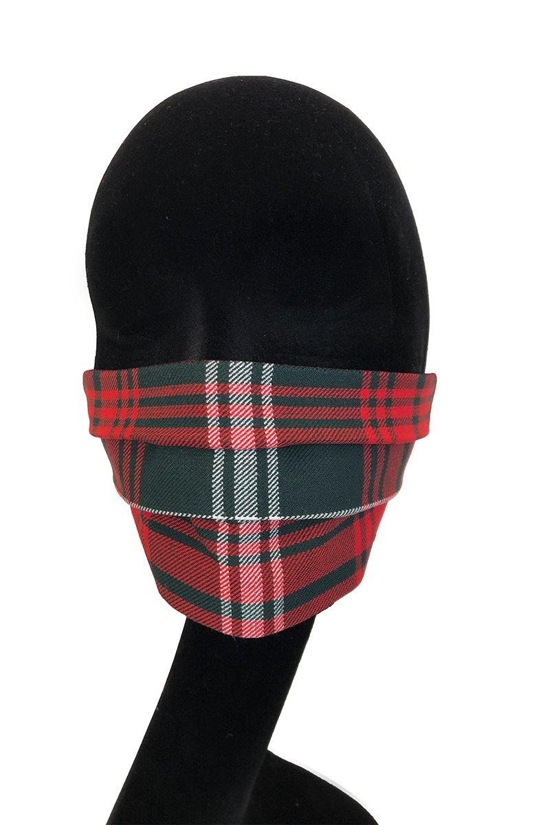 Face Mask (Prince of Wales Tartan)
