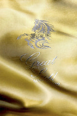 Great Scot Gold embossed lining