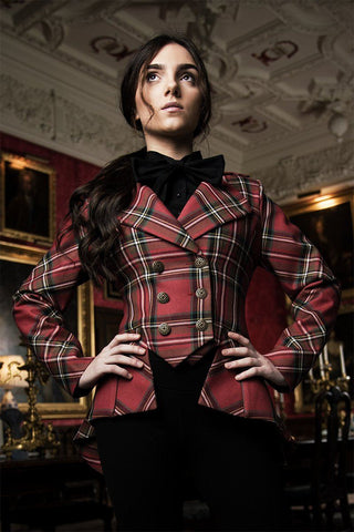Lady Mary Jacket (Custom Tartan Fine Wool)