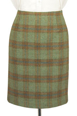 "Tailored Tweed 21"" Skirt (Roseisle Tweed)"