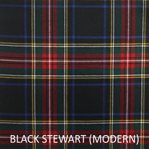 Face Mask (Stewart Black Tartan)