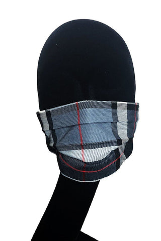 Face Mask (Thomson Grey Tartan)