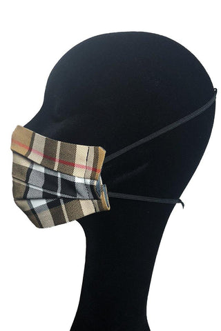 Face Mask (Thomson Camel Tartan)