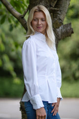 The Great Scot Victorian Blouse (White)