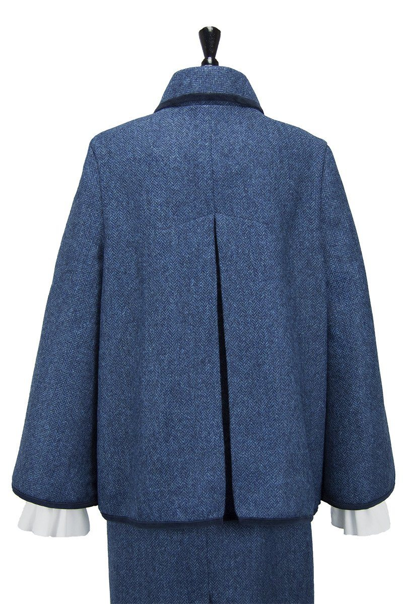 The Vintage Cape (Lorne-Blue Tweed)
