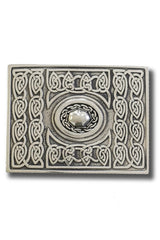 Traditional Kilt Belt Buckle (Celtic)