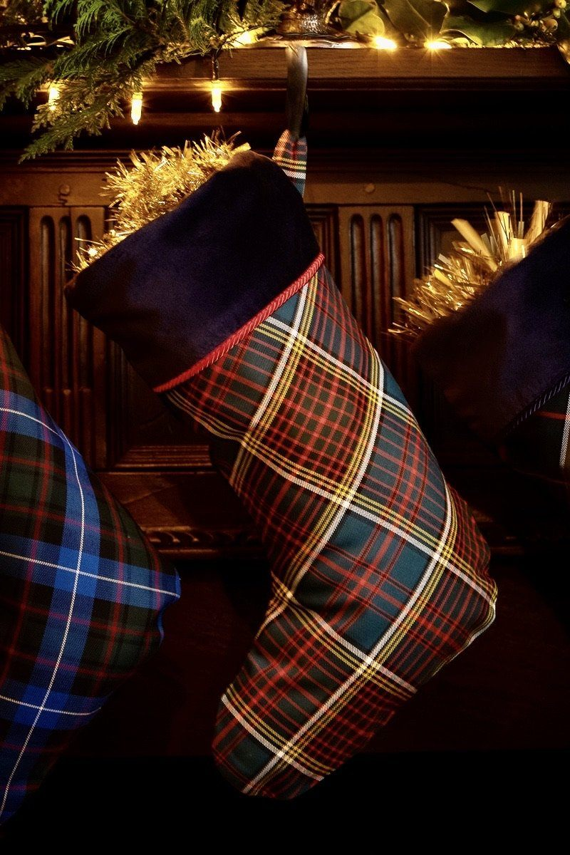 Luxury Christmas Stocking (Anderson Tartan)