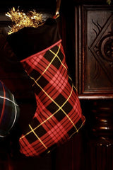 Luxury Christmas Stocking (MacQueen Tartan)