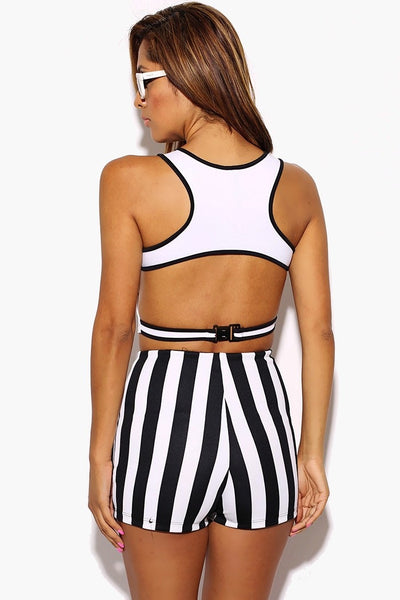 First Move Crop Top - White