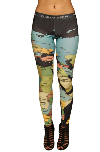 The Whole World Leggings