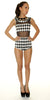 Checkered Queen Bodysuit