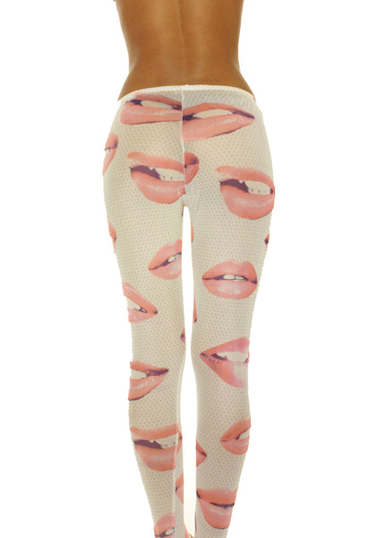 Pucker Up Leggings
