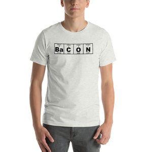 BaCON Periodic Table (In Black) Short-Sleeve Unisex T-Shirt