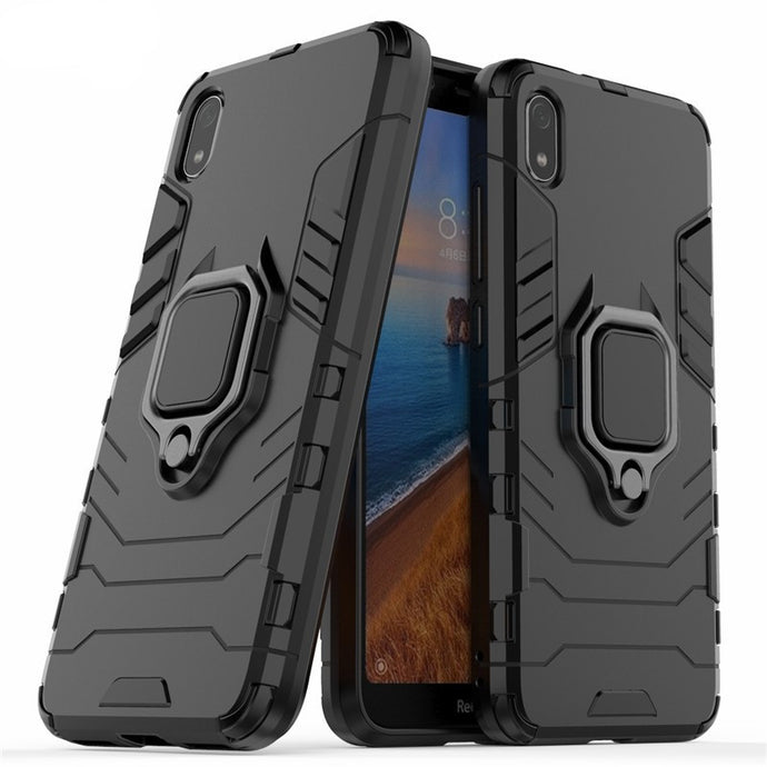Capa Military Defender Ring Anti-Impacto - Xiaomi Redmi 7A