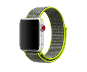Pulseira Bracelete NylonSense - Apple Watch Series 3 - 38mm - Verde Florescente