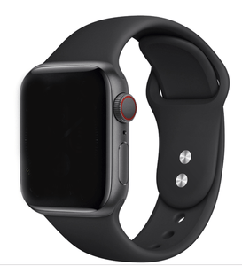 Pulseira Bracelete SmoothSilicone - Apple Watch Series 3 - 38mm - Preto
