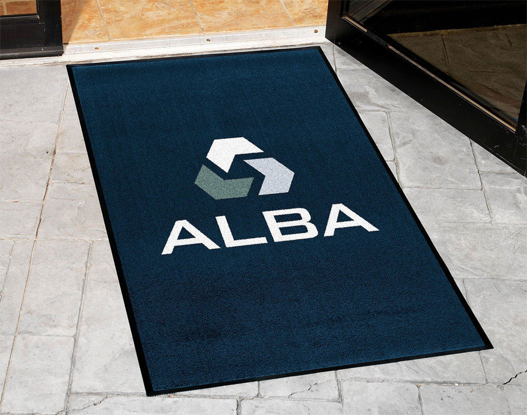 Marvelous DigiPrint Rubber Backed   Logo Floor Mat