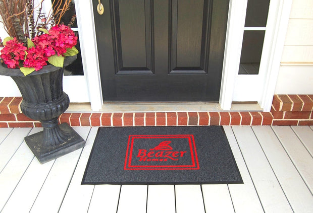 Diamondback Berber Flocked - Logo Floor Mats