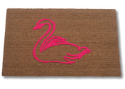 Flocked Custom Logo Coco Mat